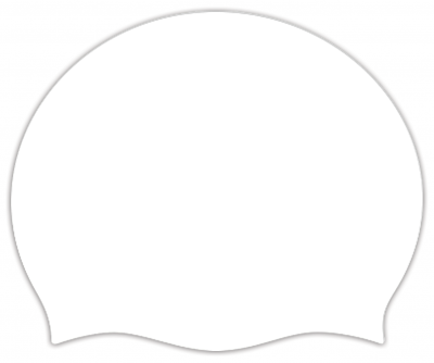 Plain Volume (Seamless) Silicone Swimming Caps -